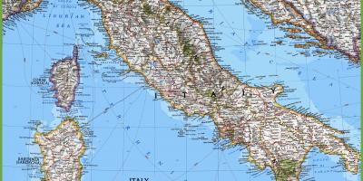 Italian Kartta Kartat Italia Etela Euroopassa Eurooppa
